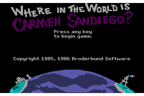 Скриншоты Where in the World Is Carmen Sandiego? на Old ...