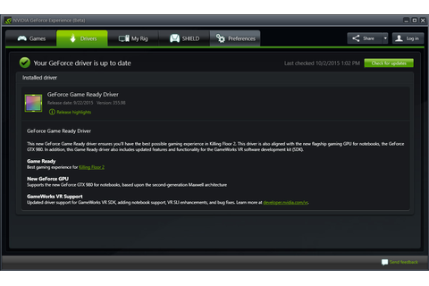 Game Ready Drivers | GeForce