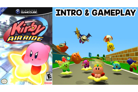 KIRBY: AIR RIDE - Intro & Gameplay Gamecube HD - YouTube