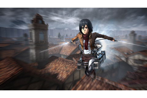 Attack on Titan gameplay details and high-res screenshots ...