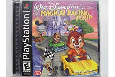 Amazon.com: Walt Disney World Quest: Magical Racing Tour ...
