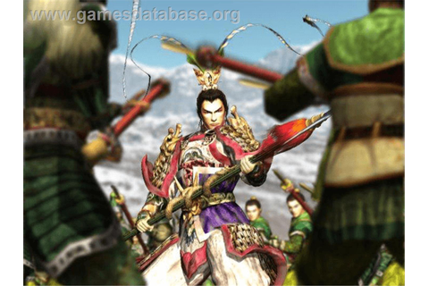 Dynasty Warriors 3 - Microsoft Xbox - Games Database