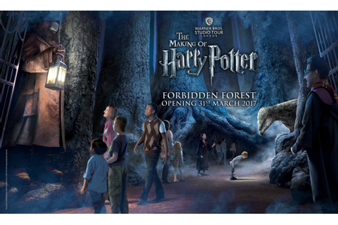 Harry Potter Studio Tour Forbidden Forest Expansion Announced