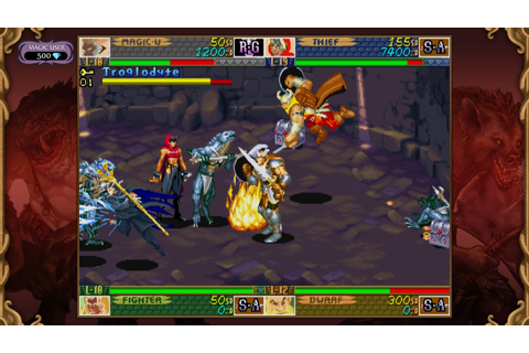 Dungeons & Dragons: Chronicles of Mystara Gameplay PS3 ...