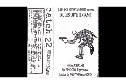Catch 22 - Rules of The Game (FULL DEMOTAPE) - YouTube