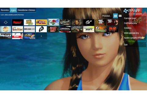 PPSSPP v 1.2.2 - DEAD OR ALIVE PARADISE - YouTube
