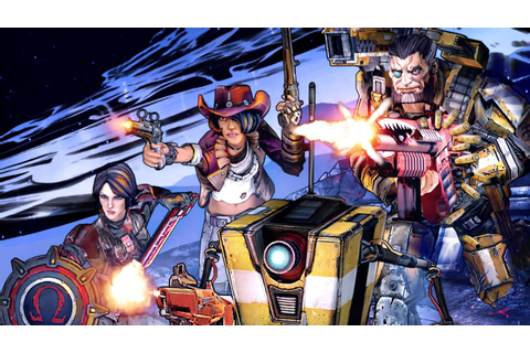 First Look at Borderlands: The Pre-Sequel's Co-op Gameplay ...