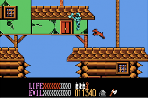 Wizards and Warriors III - Kuros: Visions of Power (NES ...