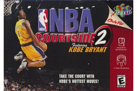 NBA Courtside 2 - Featuring Kobe Bryant ROM - Nintendo 64 ...
