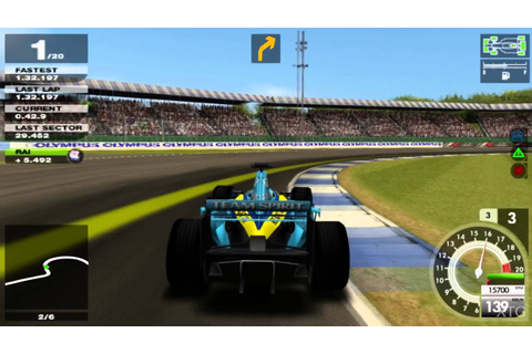 Formula One 05 PS2 Gameplay HD (PCSX2) - YouTube