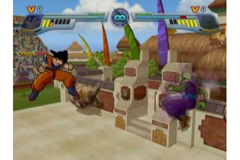 Dragon Ball Z: Infinite World (PS2 Gameplay) - YouTube