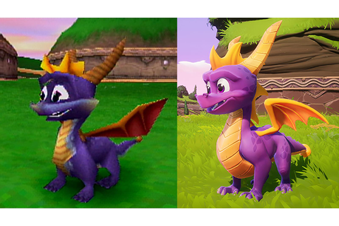 Watch a remastered Spyro the Dragon play again in brand ...