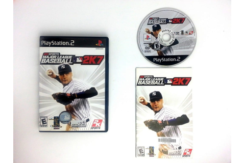 Major League Baseball 2K7 game for Playstation 2 (Complete ...