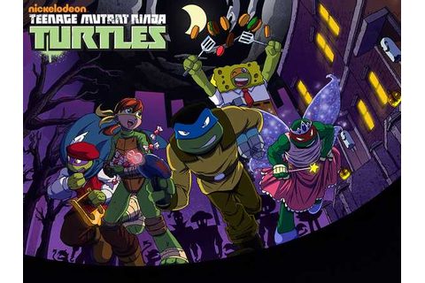 Teenage Mutant Ninja Turtles: Trick or Treat Tussle Action ...