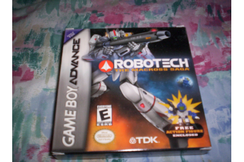 My GBA Games #11: Robotech The Macross Saga | JDawg18288 ...