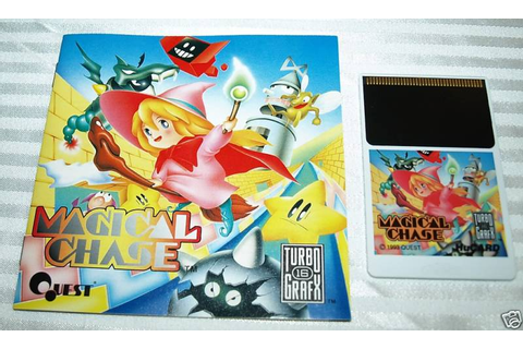 Magical Chase Turbo Grafx Complete in Box 3 | Rare Video ...