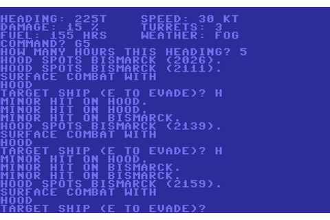 North Atlantic Convoy Raider (1983 - Commodore 64). Ссылки ...