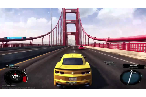 The Golden Gate Bridge - The Crew Game Beta - YouTube