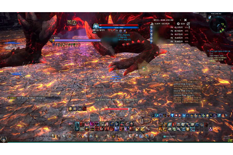 TERA 30 RAID BERSERKER LEFT HIND LEG - YouTube