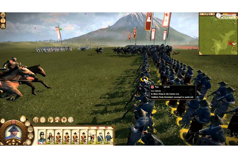 Total War: Shogun 2 - Fall of the Samurai footage - YouTube