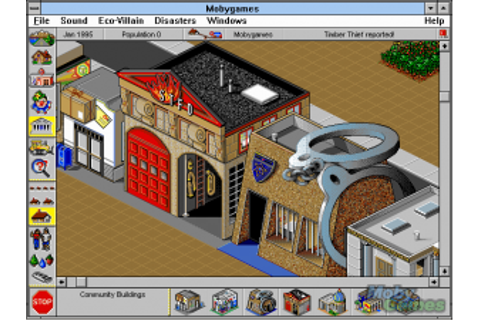 Game Classification : SimTown (1995)