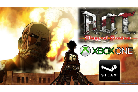 Attack on Titan Xbox One and PC-Steam Game CONFIRMED! [AoT ...