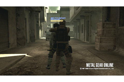 Metal Gear Online Getting Survival Mode DLC and New Maps
