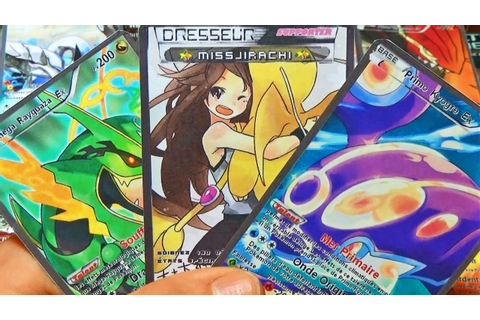 Top 10 Des Plus Belles Cartes Pokémon Ultra-Rare WTF ...