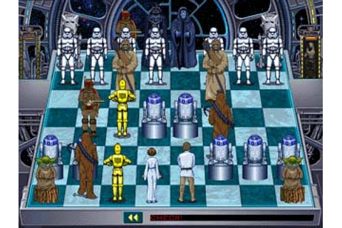 Star Wars Chess (1993) by The Software Toolworks MS-DOS game