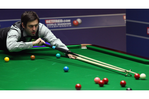 Ronnie O'Sullivan in Betfred.com World Snooker ...