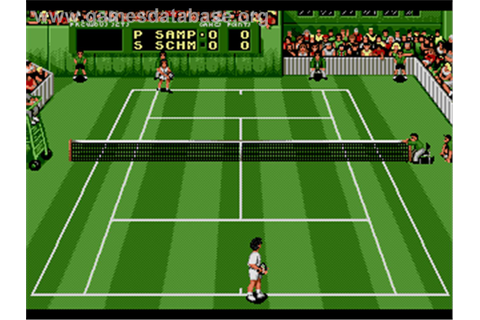 Pete Sampras Tennis - Sega Genesis - Games Database