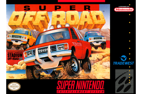 SNES A Day 27: Super Off Road - SNES A Day