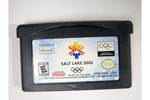 Salt Lake 2002 game for GameBoy Advance (Loose) | The Game Guy