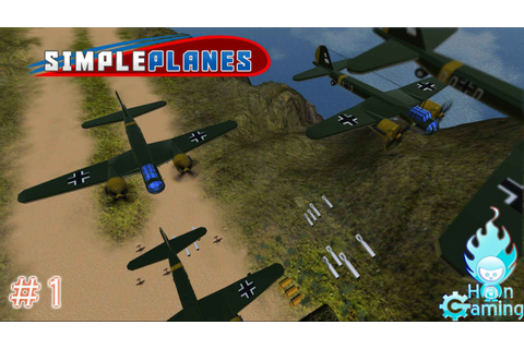 SimplePlanes #1 GOLD PLANES - YouTube