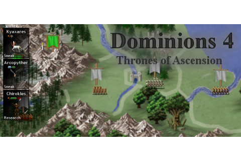 Dominions 4: Thrones of Ascension on Steam