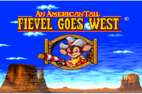 American Tail, An - Fievel Goes West (Europe) ROM