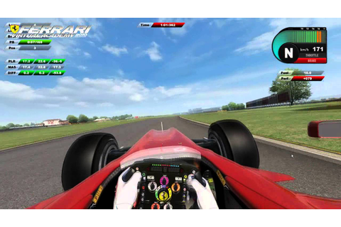 Ferrari Virtual Academy 2010 Fiorano Hotlap - YouTube