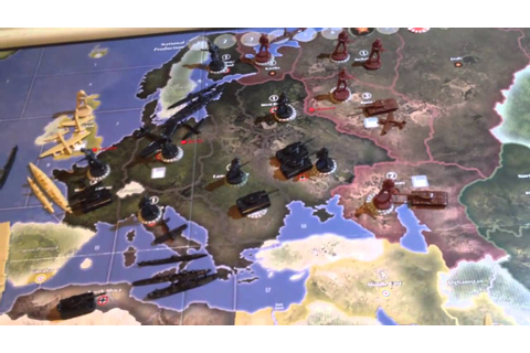 Axis and Allies - How to Play - Part 3 of 5 (1941 Edition ...