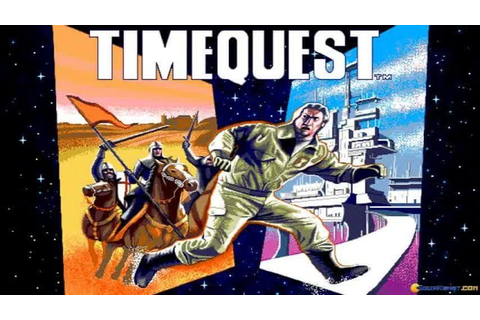 Timequest gameplay (PC Game, 1991) - YouTube