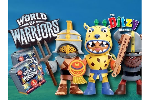 World Of Warriors Action Figures & Mini Figure Blind Boxes ...
