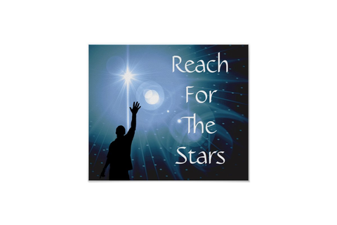 Reach For The Stars Poster | Zazzle.com