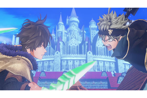 Black Clover: Quartet Knights is a magic action shooting ...