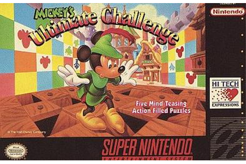 Mickey's Ultimate Challenge (USA) ROM