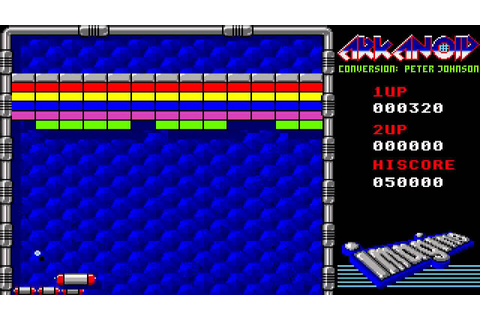 ATARI ST ARKANOID 1 Taito Conversion By Imagine Peter ...
