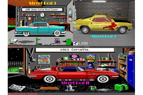 Street Rod II - DOS | Retro Domination