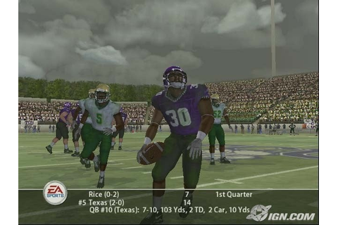 NCAA Football 2005 Screenshots, Pictures, Wallpapers ...