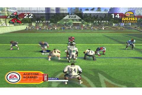 NFL Street 2 Updated Rosters!!! - YouTube