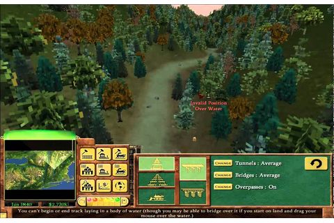 Railroad Tycoon 3 - Go West! - Part 1/3 - YouTube