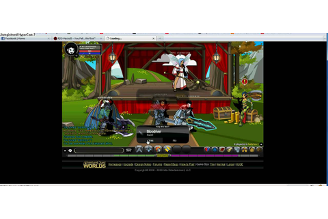AQW Ballyhoo~~~ advertisement trick!! (must see) - YouTube