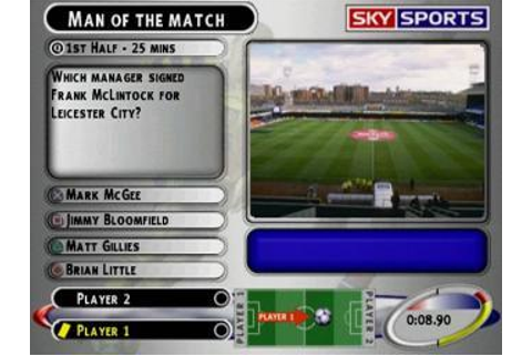 Sky Sports Football Quiz II - PlayStation;PlayStation ...